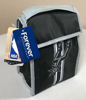 San Antonio Spurs Lunch Bag Insulated Cooler Forever Collectibles NBA Black