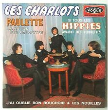 Les Charlots Disque super 45T vinyl 4 titres Paulette n° EPL8592 Vogue vintage