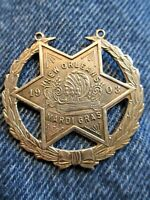 Original 1903 Mardi Gras Badge
