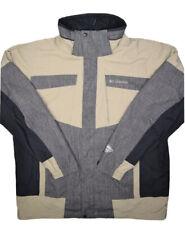 Columbia Bugaboo Jacket Mens L Omni Tech Waterproof Breathable Rain Coat Lined