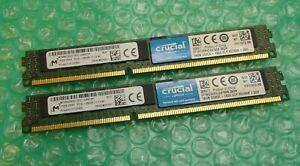 32GB (2 x 16GB) Micron MT36KDS2G72PZ-1G6N1KF PC3L-12800R ECC DDR3 Server Memory