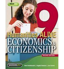 Humanities Alive Economics & Citizenship 9 & eBookPLUS 2nd ed ISBN 9781118350140