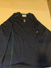 Majestic Therma Base  Practice Pullover - Seattle Mariners (MENS SIZE: XL) New