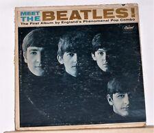 BEATLES - MEET THE BEATLES - Original Mono 1964 Capitol T 2047 vinyl LP Record