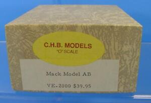RS-003 O SCALE On3/On30 C.H.B. MODELS CHB VE-2000 MACK MODEL AB TRUCK KIT