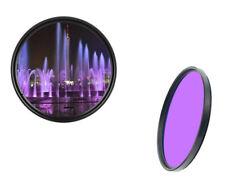 dHD DIGITAL Marken 77mm Farbfilter lila Full Filter Markenfilter 77 mm