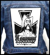 LEMMY KILMISTER - Born To Lose, Live To Win  --- Giant Backpatch Back Patch