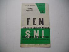 Livret d'école 1969 - Fédération de l'éducation Nationale