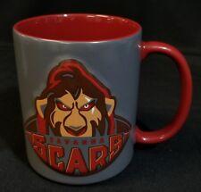 Disney Parks The Lion King Savanna Scars Ceramic-Coffee Mug Raised Football