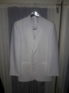 After Six White Tuxedo Dinner jacket 36R NWT