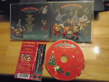 RARE OOP JAPAN Disney CHRISTMAS Twinkling Fun CD Mickey Mouse GOOFY Donald Duck