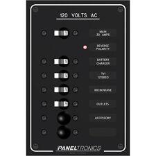 Paneltronics Standard AC 6 Position Breaker Panel & Main