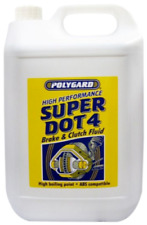 2 X Polygard Super Dot 4 Synthetic Brake and Clutch Fluid 10l 2x5litre