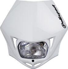 Polisport MMX Headlight White Motorcycle Enduro Universal Head Light 8663500001