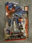 Transformers Generations Power Of The Primes Vector Prime w/ Metalhawk Armor