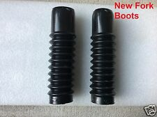Honda CL70 CT70  SS50 New Front Fork Boots Rubbers (2 fork boots)