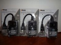 LOT OF 3 WOODS DIGITAL OUTDOOR PHOTOCELL OUTLET TIMERS DUSK to DAWN 1 TO 9 HOURS