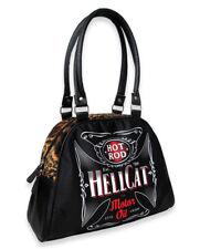 Hotrod Hellcat Evil Garde Bowler Bag Rockabilly Handbag Liquorbrand