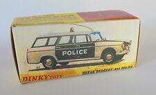 REPRO BOX DINKY n. 1429 PEUGEOT 404 Break Police