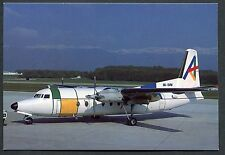 Dated 1989 - Servisair Fokker F-27-100 Aircraft at Geneva Airport