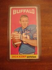 JACK KEMP SIGNED 1965 TOPPS #35 BUFFALO BILLS GUARANTEED AUTHENTIC AUTOGRAPHED