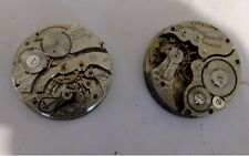 2 Vintage Southbend pocket watches for parts or restoration