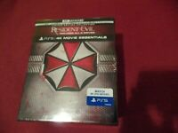 Resident Evil Complete Collection Lot (4K UHD+Blu-ray+Digital) Factory Sealed