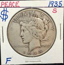 Nice 1935-S  Liberty Peace Silver Dollar