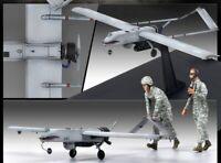 Academy 1/35 US RQ-7B Shadow with 2 Figures UAV Assemble Kits Plastic Model Kit