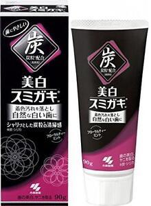 KOBAYASHI Pharmaceutical SUMIGAKI Japanese Charcoal Toothpaste whitening 90G