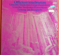 Officium Tenebrarum / Utrechts Studenten Gregoriaanskoor + Kamerkoor LP Vinyl