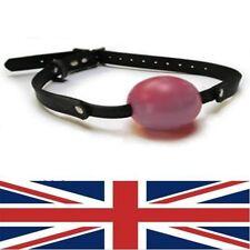 Cuero Rojo Ball Gag, Sissy Maid, del Reino Unido con envío rápido, Decreet embalaje