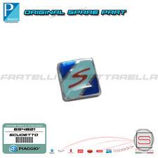 Scudetto Logo Cresta Parafango Cromata Originale Piaggio Vespa GTS Super 654821
