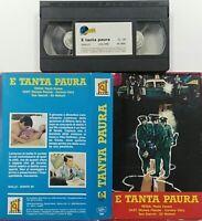 E Tanta Paura (VHS - Cinelux) Usato