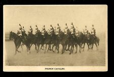 WW1 French Cavalry Photogravure Military TUCK #4309 PPC