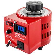 110v 500va Variable Transformer With Digital Display Lcd 60hz 0 130v Ac Voltage