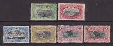Belgian Congo - SG 30/35 - f/u - 1900/1901 - 5c - 1f (2 x 1f)