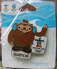 Quatchi Van 1226 Olympic   AUTHENTIC Vancouver 2010 Winter Olympic PIN