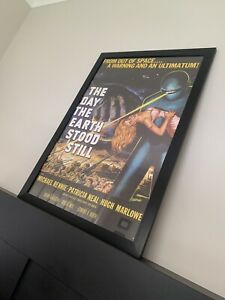 Large The Day The Earth Stood Still Movie Day Bill Artwork PICK UP ONLY