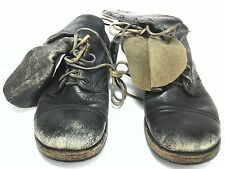 BFG Goodrich WWII Vietnam Vintage Leather Collectible Military Combat Boots