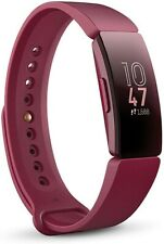 New listing FITBIT Inspire Fitness Tracker - Sangria - Universal Size - brand new in box