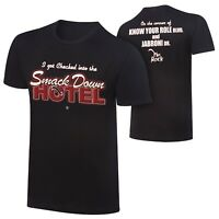 WWE The Rock SmackDown Hotel Special Edition Shirt 2XL XXL Official New WWF