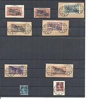 Memel, Litauen 1921-1922, Einzelwerte aus MiNrn: 40 - 71 o, geprüft Huylmans BPP