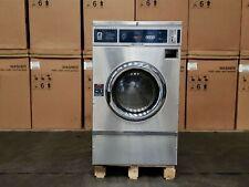 Dexter T600 Front Load Washer Coin Op 40lb 208 240v 60hz Sn 2050300478296 Ref