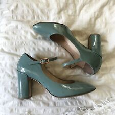 Baby Blue Repetto Mary Jane Heels