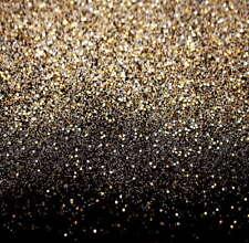 6x8ft Vinyl Black Gold Glitter Dots Photography Studio Backdrop Background