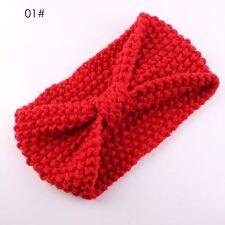 Cute Kids Girl Bow Crochet Headband Baby Toddler Hair Band Accessories Headwear