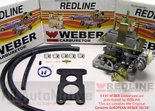 Jeep Chevy GMC 2.8 Weber Carburetor Conversion Kit