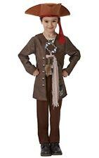 Costume Deluxe Jack Sparrow Disney Pirati dei Caraibi Rubie's Taglia L 7-8