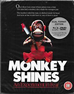 George A. Romero's:Monkey Shines Blu Ray+Dvd Region B/2 Includes Registered Post